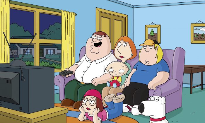 "Everyone watches TV in ""Family Guy."" The CRTC is inviting Canadians to have their say on the future of the television system. (The Canadian Press/AP, Fox)"