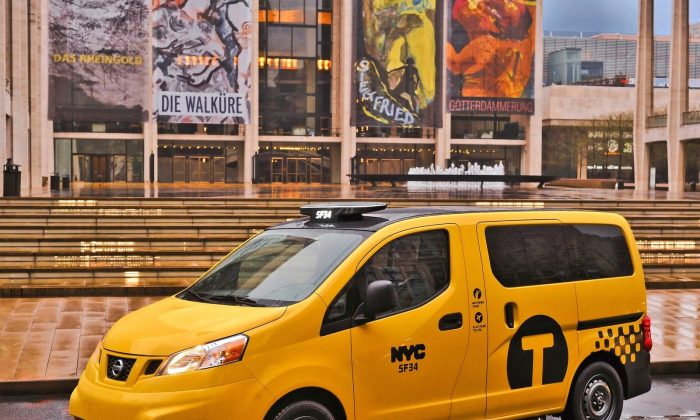 2014 Nissan NV200 Taxi (Courtesy of NetCarShow.com)