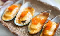 Recipe: Cheese-Mayo Baked Mussels