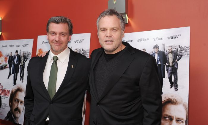 L-R) Actors Ray Stevenson and Vincent D'Onofrio attend the premiere of 'Kill the Irishman' at Landmark's Sunshine Cinema on March 7, 2011 in New York City. (Michael Loccisano/Getty Images)