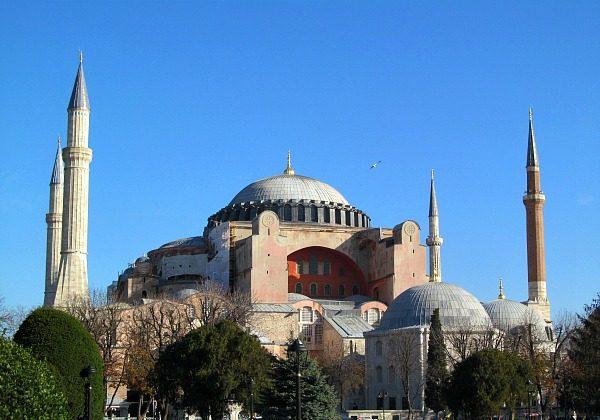 The beautiful Hagia Sofia (Traveling Ted)