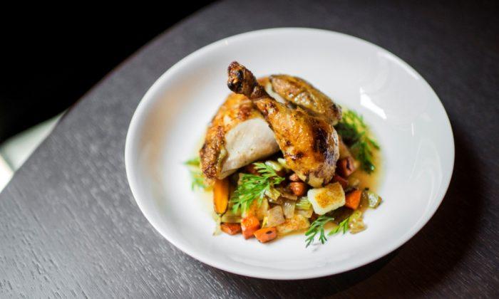Farm Roasted Chicken. (Daniel Krieger)
