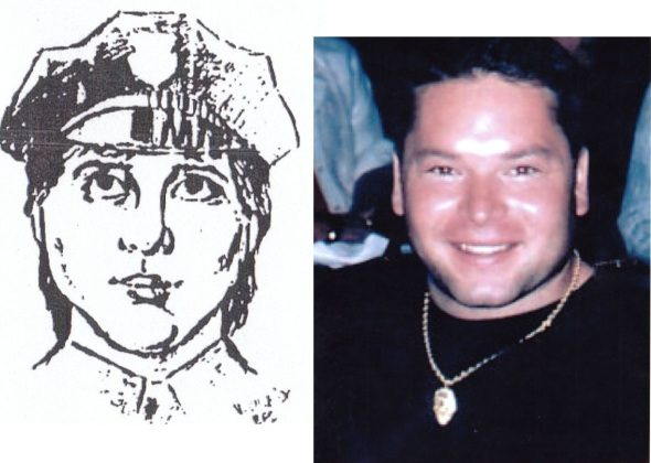 FBI sketch of the suspect David Turner. (FBI)