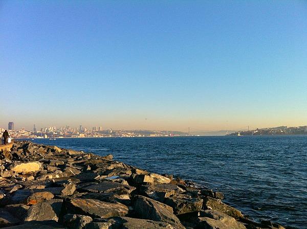 Walk along the Bosphorus Straits (Traveling Ted)