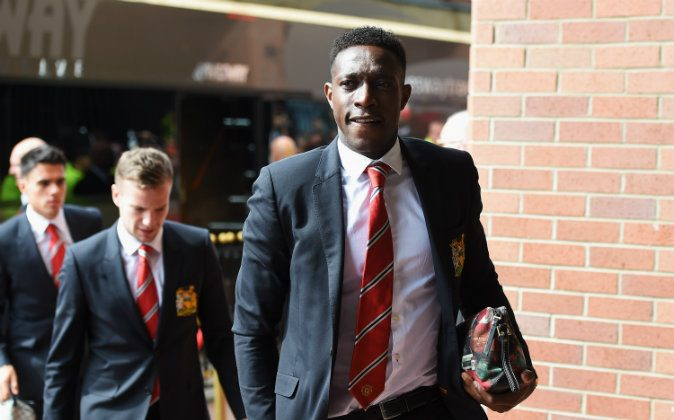 Danny Welbeck of Manchester United arrives for the Barclays Premier League match between Sunderland and Manchester United at Stadium of Light on August 24, 2014 in Sunderland, England. (Photo by Michael Regan/Getty Images)