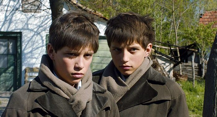 """László Gyémánt and András Gyémánt as Hungarian child refugees in """"The Notebook."""" (Christian Berger/Sony Pictures Classics)"""