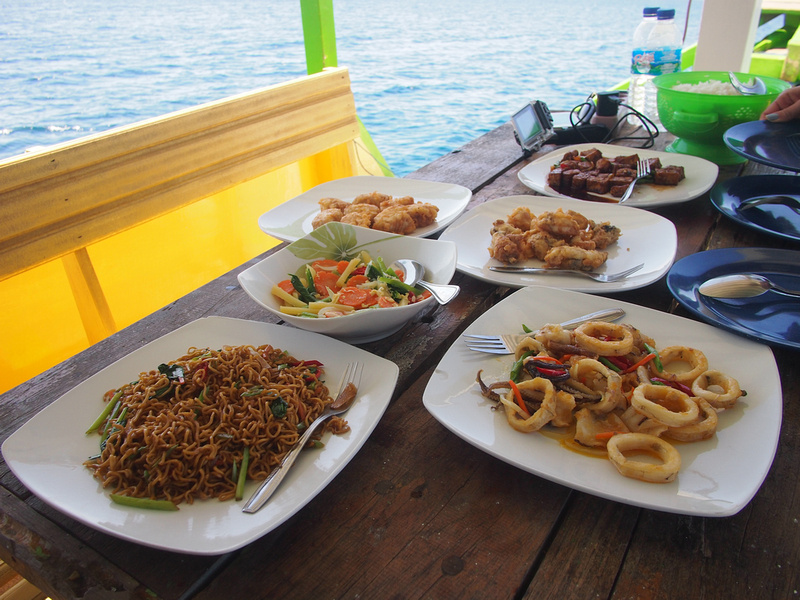 Food and drink on the boat (James Clack, Nomadic Notes)