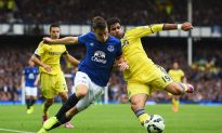 Everton vs Chelsea Live Score, Result: Diego Costa, Samuel Eto'o Score in 6-3 Thriller at Goodison Park