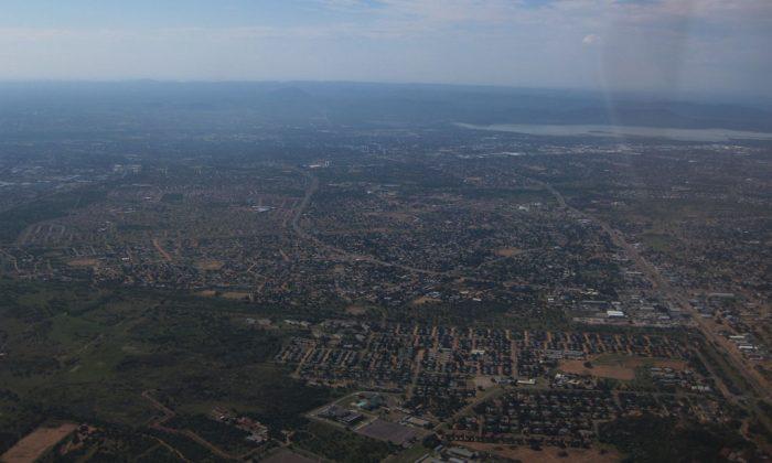 Aerial view of Gaborone, capital of Botswana. (Wikimedia Commons)