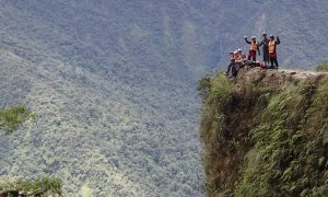 Biking Down Death Road in Bolivia