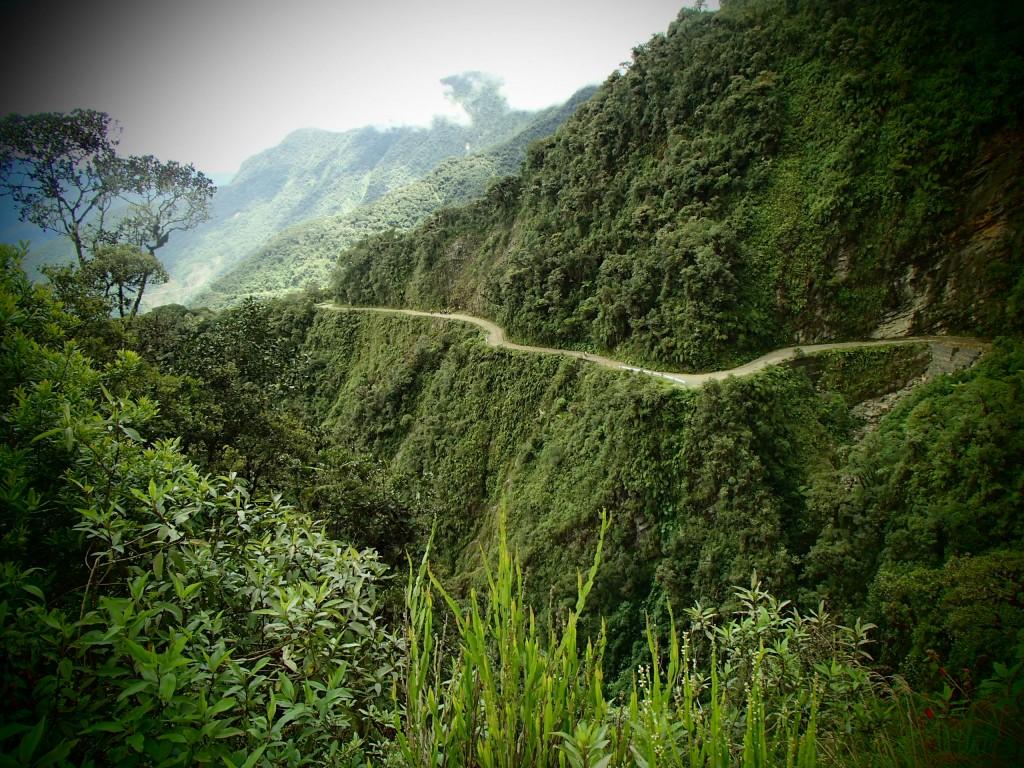 Biking in Bolivia (Miriam Risager, Adventurous Miriam)