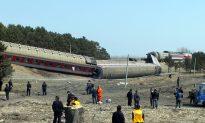 Passenger Train Derails In Northwest China
