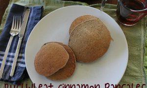 How to Make Buckwheat Cinnamon Pancakes
