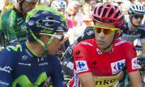 Movistar's Nairo Quintana Crashes Out of Vuelta a España