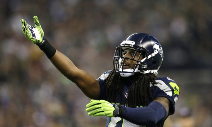 Seattle Seahawks cornerback Richard Sherman was a wide receiver at Stanford before becoming the steal of the 2011 NFL Draft. (AP Photo/Scott Eklund)