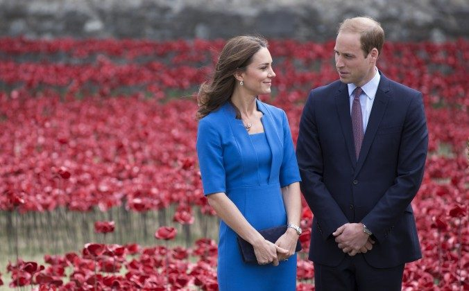 Kate Middleton, The Duchess of Cambridge, and Prince William, Duke of Cambridge in London, England on August 5, 2014. (Oli Scarff/Getty Images, file)