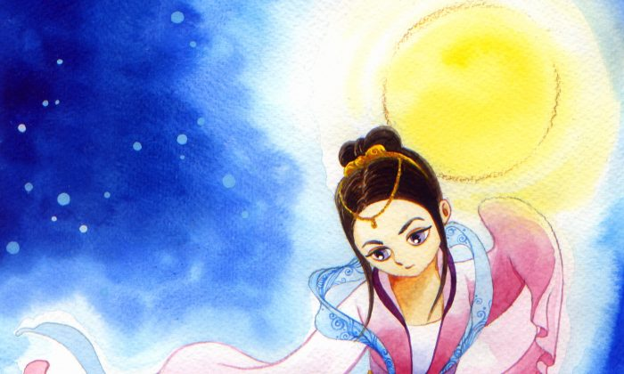 The Chinese Mid-Autumn Festival is on the 15th day of the 8th month in the lunar calendar. In 2014, it falls on Sept. 8. The origin of the festival is the popular legend about the moon lady, Chang E. (Annie Wu/Epoch Times)