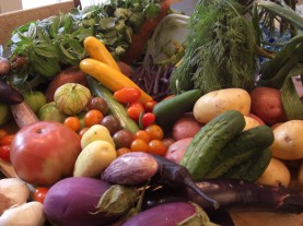 Organic is a must when choosing certain fruits and vegetables.