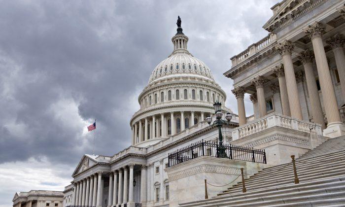 The U.S. Capitol in Washington, D.C., on July 23, 2013. (J. Scott Applewhite/AP)