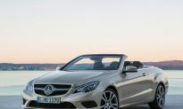 Mercedes E550 Cabrio Is Fit For a Movie Star