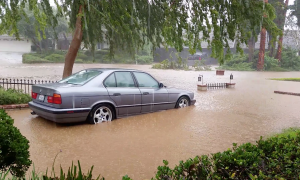 Hurricane Rains Bring Flash Flooding to So California
