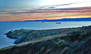 Howth - The Harbour, Peninsula and Cliffs, county Dublin, Ireland