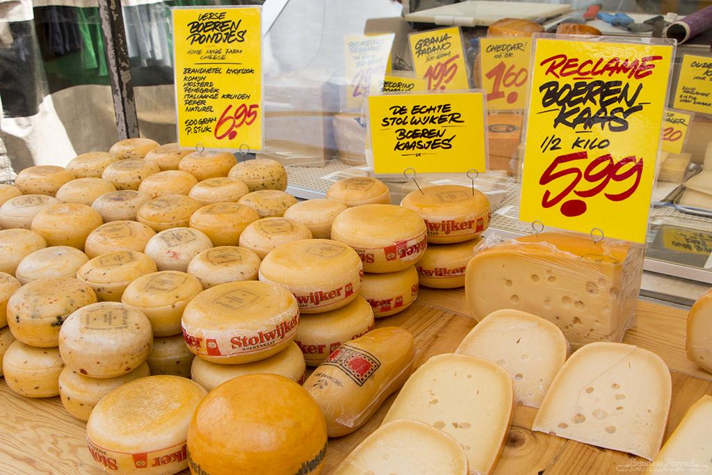 Dutch cheese (Beth Williams, BesuDesu Abroad)