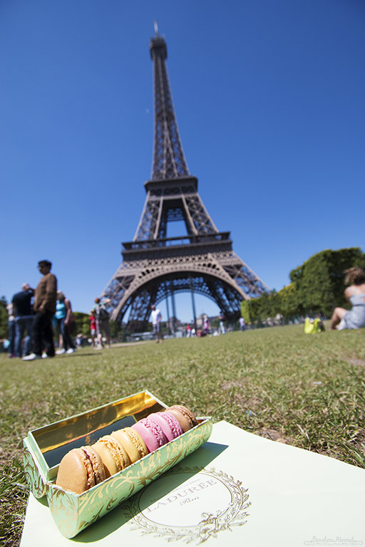 Paris Eiffel picnic (Beth Williams, BesuDesu Abroad)