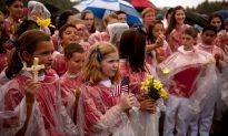 In a School Garden on 9/11