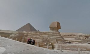 Google Maps Street View Has Pyramids, Sphynx, and Ancient Egypt Monuments Now