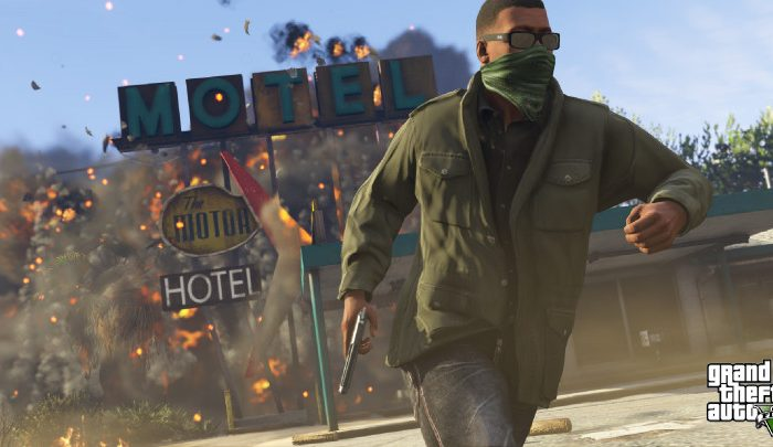 A Screenshot of Grand Theft Auto V's Heists. (Courtesy of  Rockstar Games)