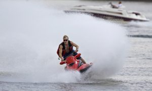 Lucky Jet Skiers Rescued by NY Firefighters