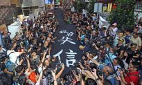 Black Means Indignation in Hong Kong, as Thousands Demand Universal Suffrage