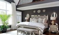 Hollywood Glamour: Master Bedroom Oasis