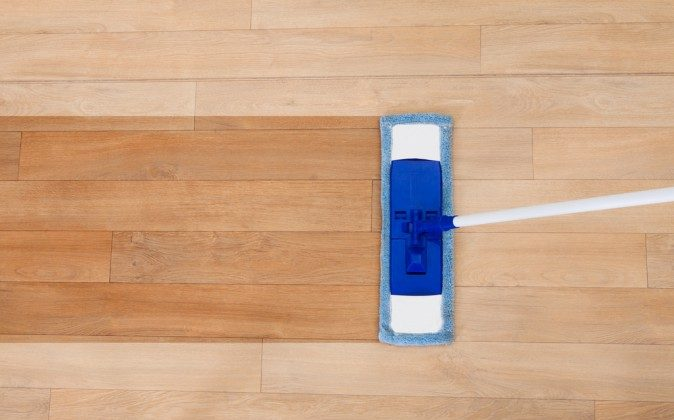 DIY: Natural Floor Cleaning