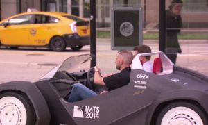 Video: This 3D-Printed Car Is the World's First