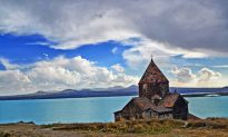 Lake Sevan and Armenian Countryside