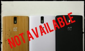 Do You Like Those Fancy Looking OnePlus One Covers? They Won't Ever Be Available