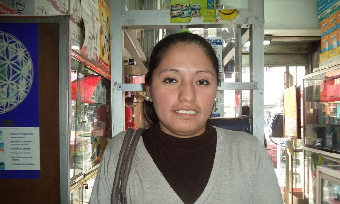 Lima Peru: Janny Guillermo, 32, Pharmaceutical Technician: I believe that a well-balanced diet does not need supplements. Although there are cases when a person is in a special state, such as: pregnancy, stressful situations, or doing intensive workouts, et cetera, they do need dietary supplementbecause they are not getting enough vitamins so the requirement is greater.