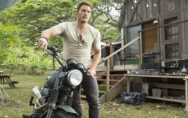 Chris Pratt in Jurassic World. (Universal Pictures)