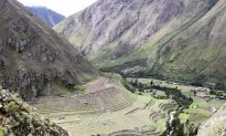 Hiking From Moray to the Salt Pans in Maras