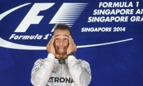 Hamilton Wins F1 Singapore Grand Prix, Leads Points as Rosberg Retires