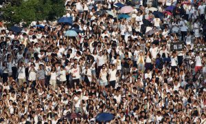 Calling for Democracy, Over 10,000 Students Boycott Classes in Hong Kong