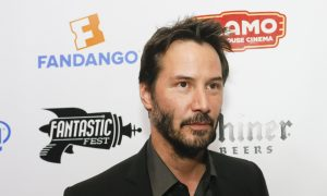 Keanu Reeves Finds Intruder in His Library