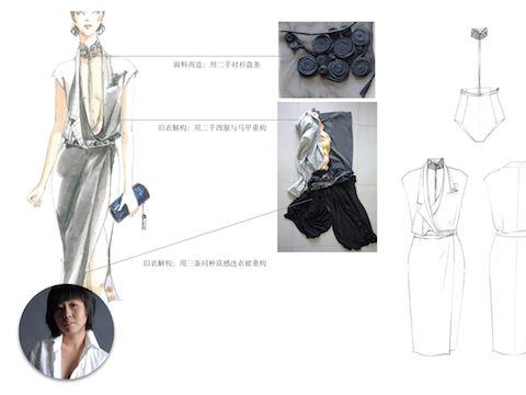 Ecochic Design Award 2014 nominee Aya, Xianting Qi, Mainland China