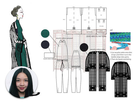 Ecochic Design Award 2014 nominee Cher, Carman Chan, Hong Kong
