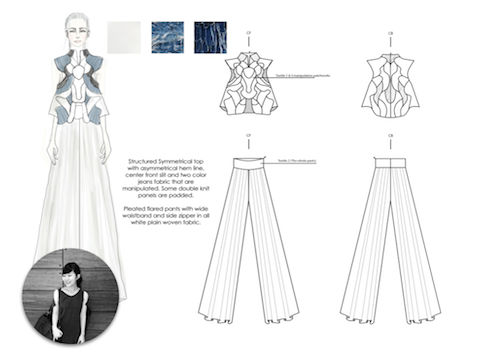 Ecochic Design Award 2014 nominee Laurensia Salim, Singapore