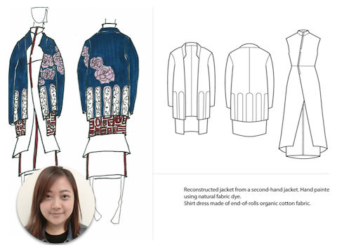 Ecochic Design Award 2014 nominee Veronica, Hsiao Huei Lee, Malaysia