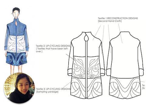 Ecochic Design Award 2014 nominee Yvonee, Tien Chun Tsai, Taiwan
