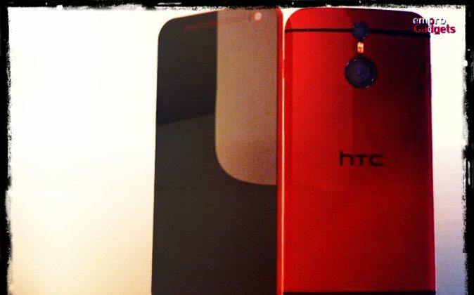 HTC One M9 (Screenshot Youtube/Ashik Empro; effects added by Epoch Times)